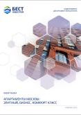 Аналитический обзор рынка. Апартаменты Москвы: элитный, бизнес, комфорт класс  (1 кв. 2015)